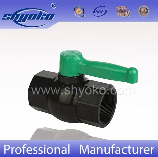 Building Contruction Gray Plastic PVC Ball Valves
