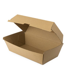 Best Price!Disposable Brown Craft food grade packaging box