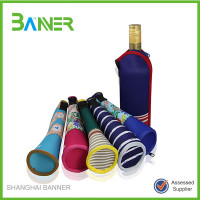 Promotional Party fashion top quality neoprene cooler bag for 1.5l bottle