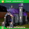 High quality halloween inflatable haunted house with oxford material