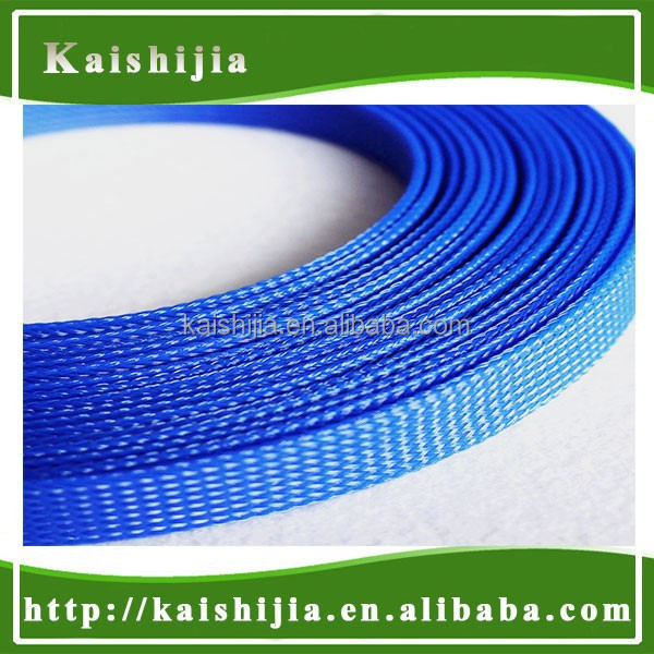 PET Braided Expandable mesh sleeving for fishing rod