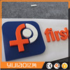 Colorful 3d Acrylic Sign Flat Cut