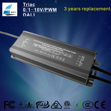 Hot sale 0-10V dimmer led adapter waterproof constant voltage 12V 24V 60W LED strip light driver IP 67