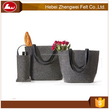 fashionable felt backpack laptop bag in stock
