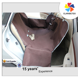 An Hour Replied Waterproof Adjustable Coffee Oxford Fabric Pet Car Seat Cover