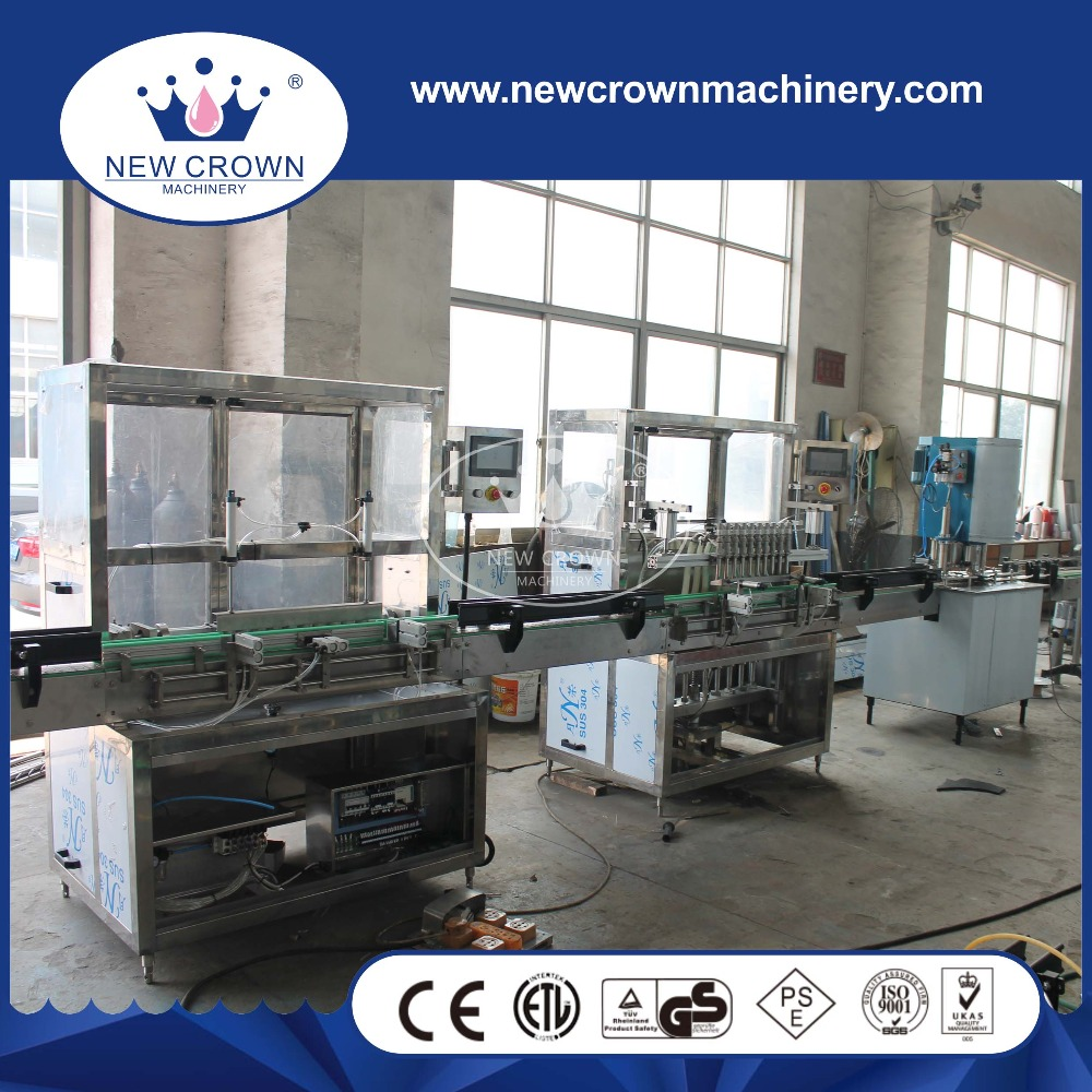 Linear small canning machine, juice canning machine, canning machine price
