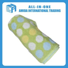 High Quality Absorbent Soft Polyester Face Washer Towel