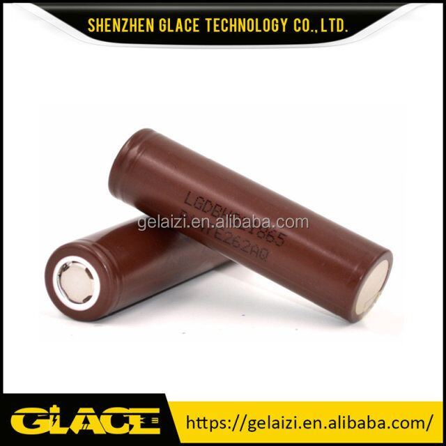 LG HG2 3.7v chocolate 3000mah IMR dry cell lipo battery for electric bike