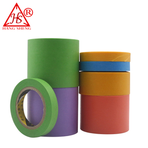 Heat resistant brown masking tape
