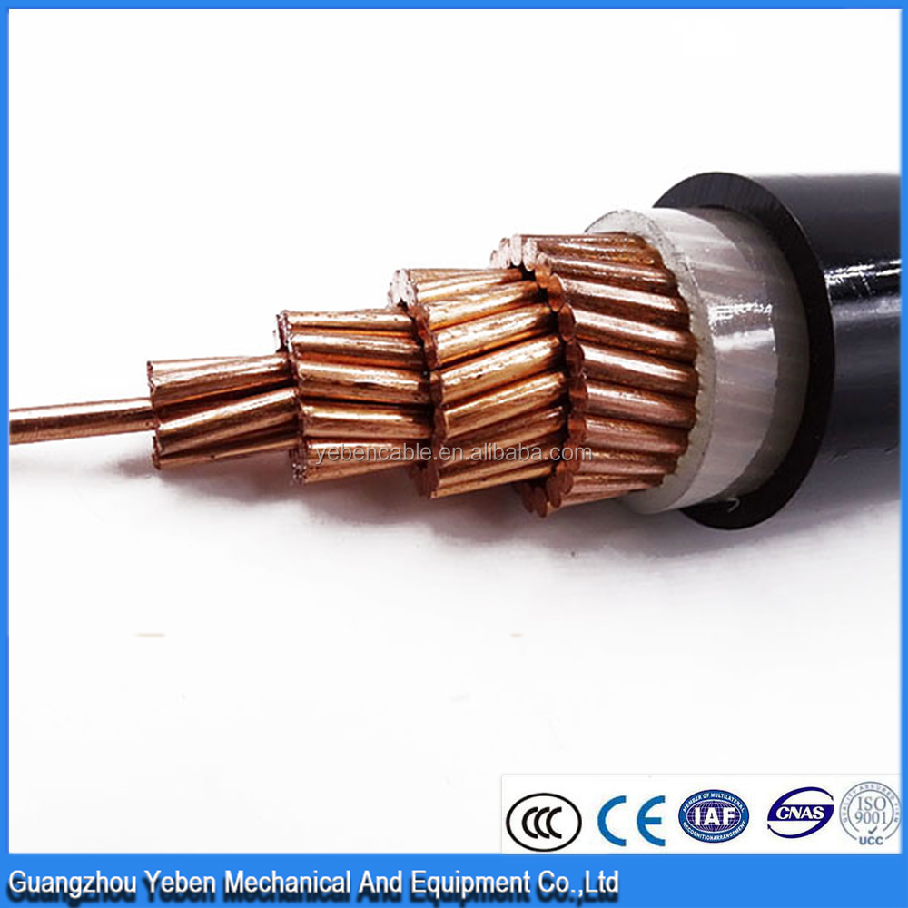 CE certification with Low Voltage Single Core XLPE Insulated Power Cable 630mm XLPE Cable