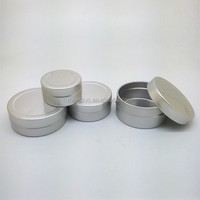 10g,20g,30g,40g aluminium jar for skin balm,body balm jar, lip balm cosmetic container
