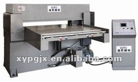 Automatic feeding CNC hydraulic plane leather cutting machinery