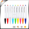 New Design Twist action Plastic Ball Point Stylus Touch Phone Screen Promotional Pen With Custom Logo