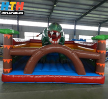 China factory inflatable dinosaur jumpers price