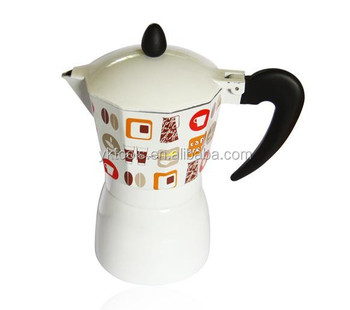 Italian espresso maker coffee machine without induction