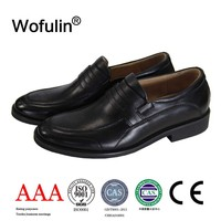 High quality cheap china manufacturer men leather shoes non-lace silp-on soft comfortable casual leather shoes made in china