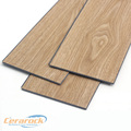 Nature wood grain look pvc flooring BP embossed
