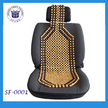 Wooden beads car seat cushion form China factory