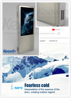 Keewin Display hd outdoor advertising with IP65