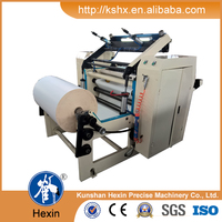 automatic slitter rewinder for cash register rolls
