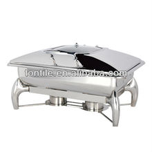 [Tontile] Stainless Steel Round Buffet Induction Chafer Or Induction Chafing Dish