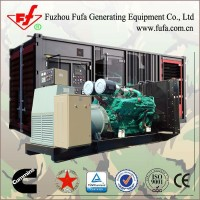 Latest Technology ! Mobile Generator 1mw Containerized power generator price with Cummins Engine