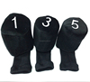 Latest Cheap knitted club golf wool head covers with OEM Logo