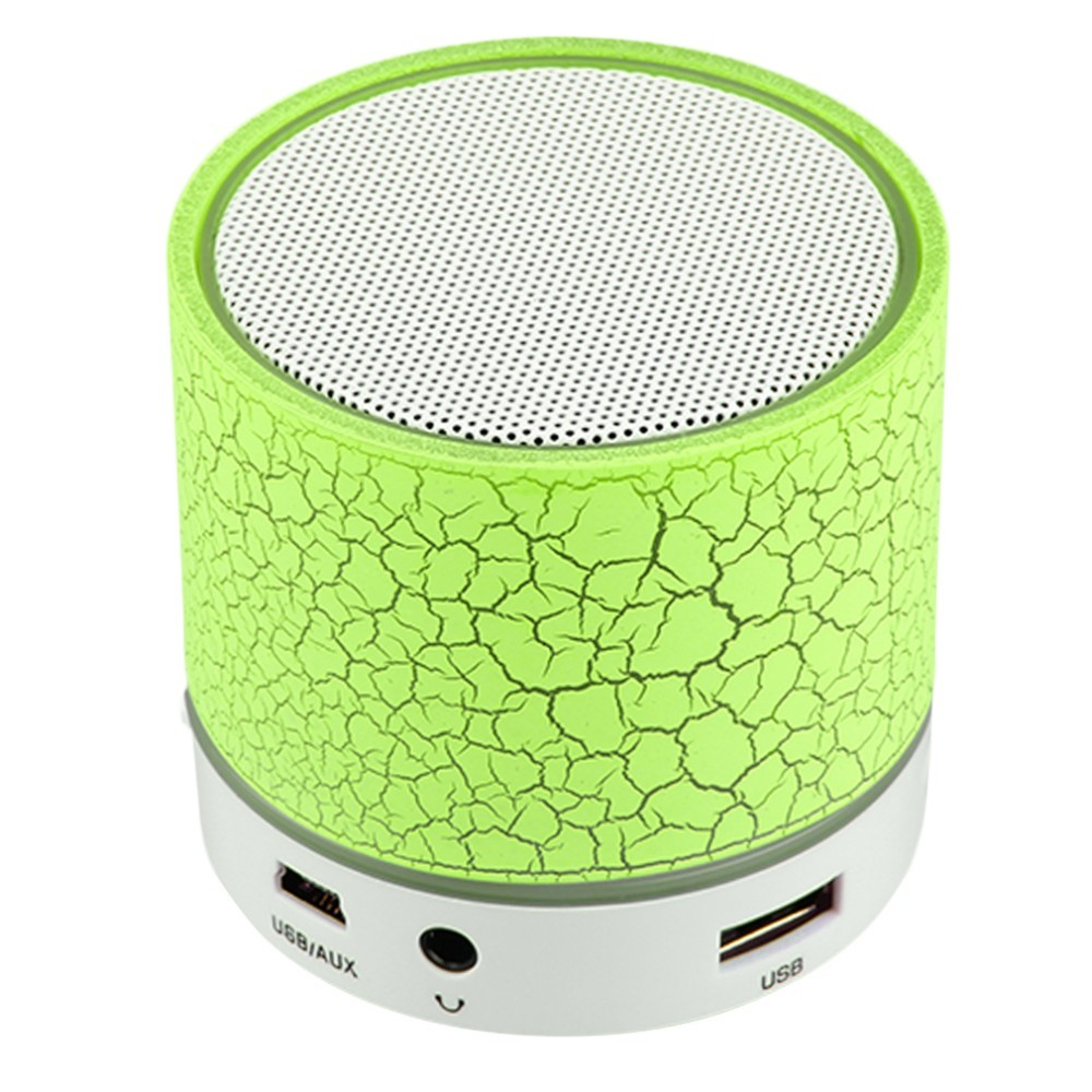 LED MINI Bluetooth Active Speaker A9 TF USB FM Wireless Portable Music Speaker Box