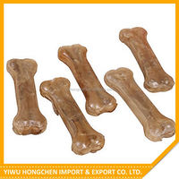 Best selling different types rawhide dog chews natural knotted soft bones manufacturer sale