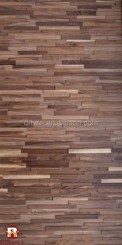 Acacia style decorative 3D wood wall panel