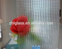 3-8mm Texture Pattern Glass with CE & ISO9001