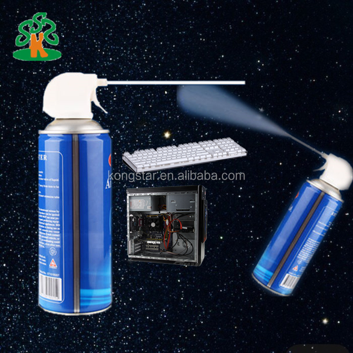 Compressed canned air duster Cleaning Spray for office electronic product