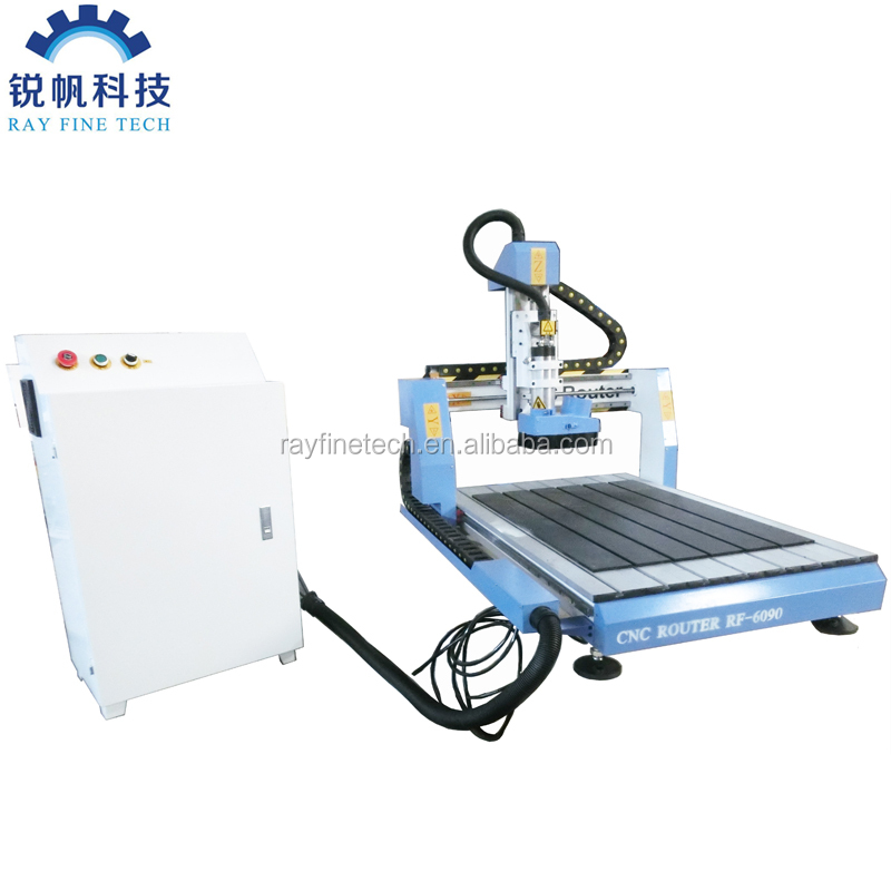 desktop cnc router 6090 with 2.2KW spindle motor