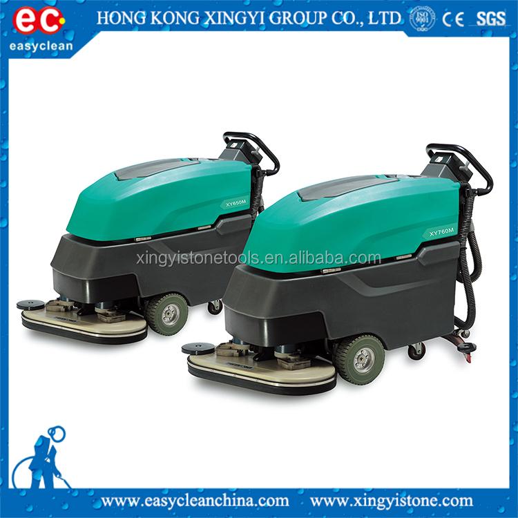 List manufacturers of walk behind floor scrubber buy walk for Concrete floor scrubber