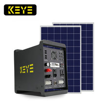 Pay as you go portable multifunctional 500w 1000w solar panel light system kit Auto emergency start power supply dc12v ac220v