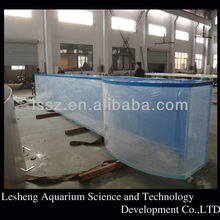 Transparent large acrylic aquariums fish tank for sale