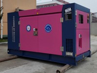 Chinese engine 10kva 10kw silent diesel generator price weatherproof enclosed type
