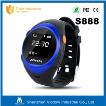 China gps tracking watch phone 1.2 inch sim card wifi bluetooth sos remote monitor