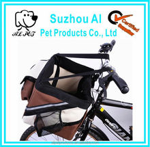 Bicycle Handlebar Small Puppy or Miniature Dog Carrier Basket for Bike