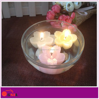 wedding decoration floating paraffin wax candle