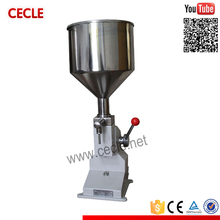 Popular manual filling machine used shapoo/face cream/paste