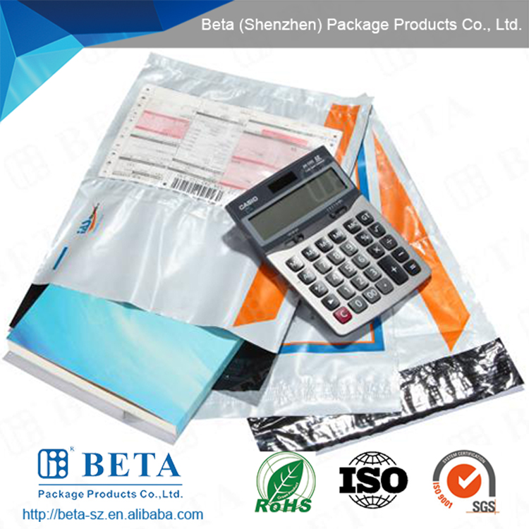 Custom printed self adhesive Plastic Courier Bag