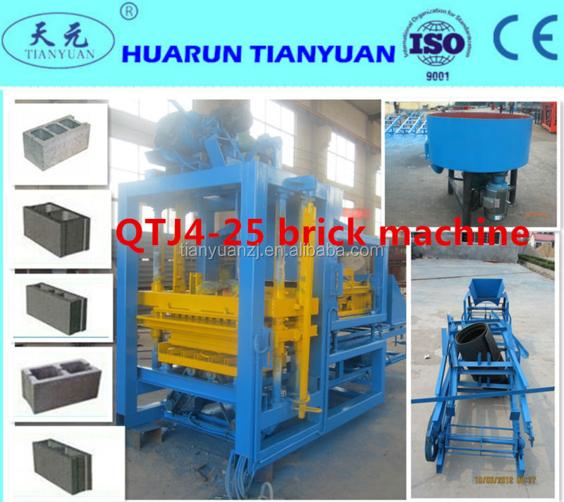block making machine prices