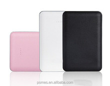 2014 new leather case legoo power bank 12000mah for iPhone,dual USB with LED light, 5V/2.1A Output