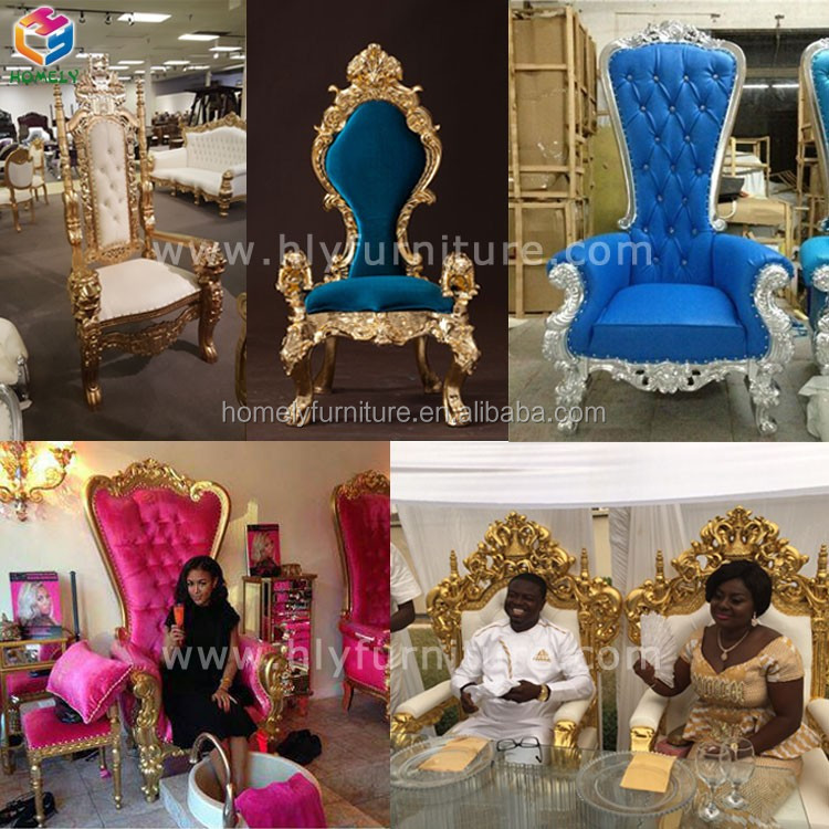 Blue  Luxury and New Style Single King Chair