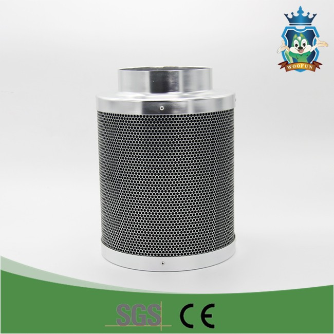 Hydroponic new design size customized stainless activated carbon air filter