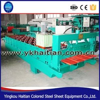 High Quality Corrugated Flat Roof Forming Roller Making Machinery
