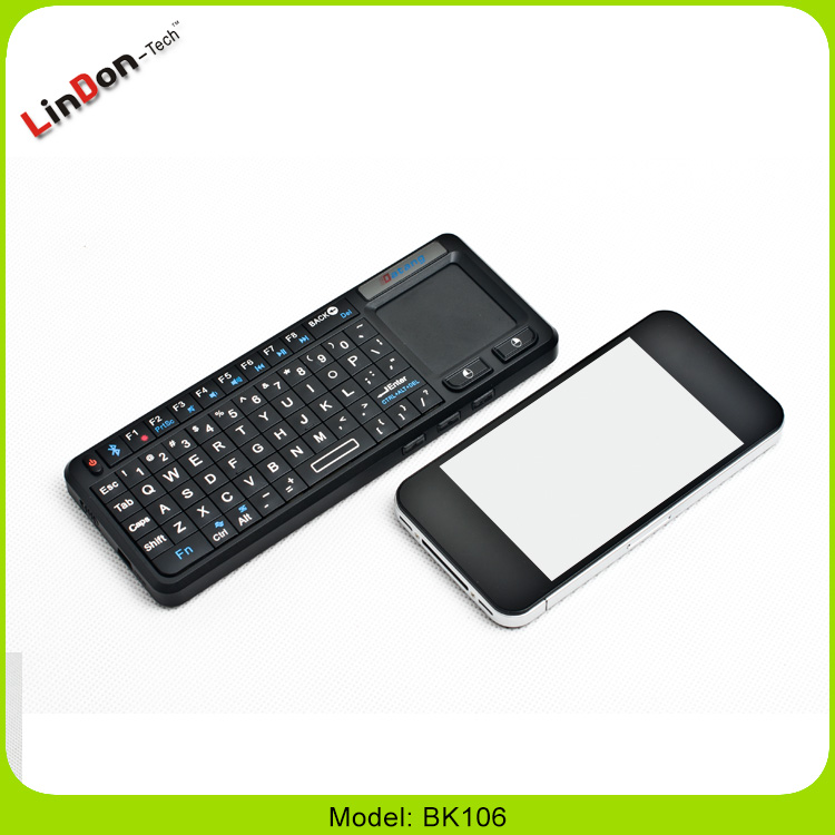 High Quality Laser Pointer Mini Bluetooth Keyboard With Mouse Pad For Smartphone/Tablet