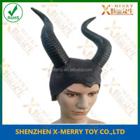 X-MERRY BIG Ox horn HALLOWEEN PROP human faoce with Ox horn fancy dress party