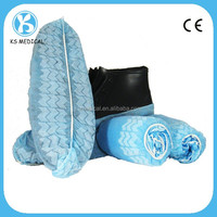 ISO, CE Certified disposable hospital shoe covers printed